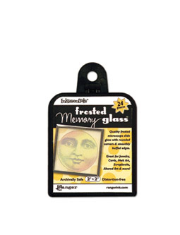 Frostat memory glas, 2*2 inches.