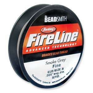 Fireline 0,15 mm tjock (6 lb) smoke