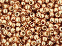 TOHO seedbead 15/0, Galvanized Rose Gold Permafinish. 5 gram.