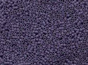 Delica 11/0, Opaque Lavender Matted, DB 0799. 5 gram.