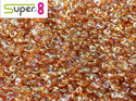 Super8®, Crystal Orange Rainbow, 00030/98535. 5 gram