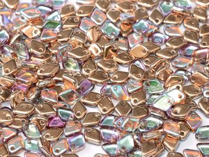 Dragon scale bead, Crystal Copper Rainbow. 5 gram
